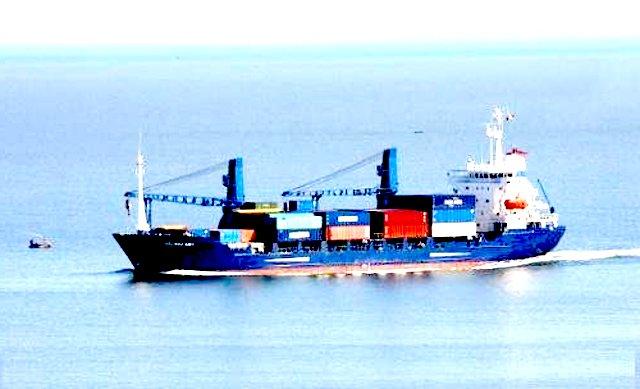 Barco de contenedores embarcaci n para la venta - Contenedores de barco ...